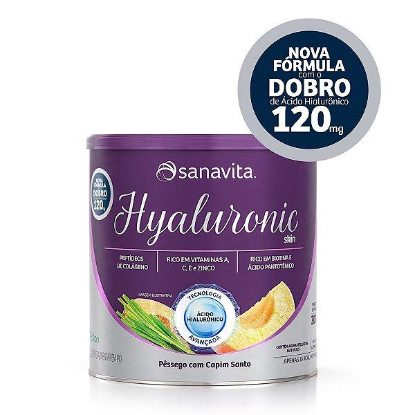 Hyaluronic Skin - Pêssego e Capim Santo - Lata de 300g