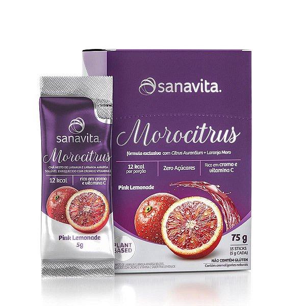 Morocitrus Sabor Pink Lemonade Sachês 15x5g