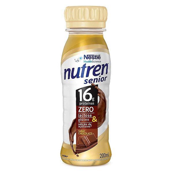 Nutren Senior - Chocolate - Garrafinha de 200ml