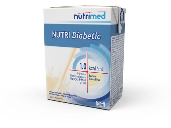 Nutri Diabetic 1,0 Baunilha 200ml