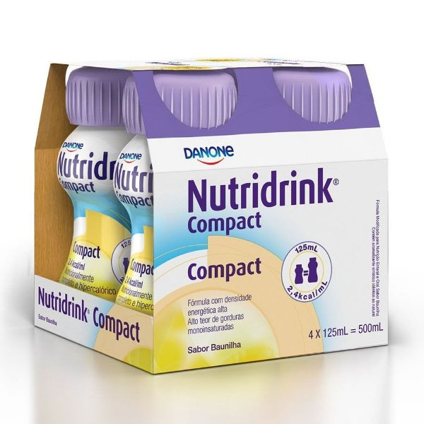 Nutridrink Compact Baunilha 4x125ml