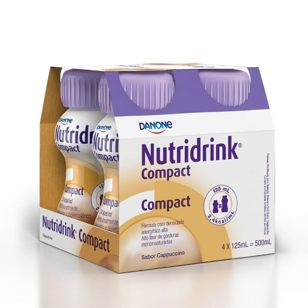 Nutridrink Compact Cappucino 4x125ml