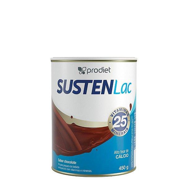 Sustenlac Pó Chocolate - Lata de 400g  PRODUTO EM PROMOÇÃO! Vencimento do produto: 31/12/2021.