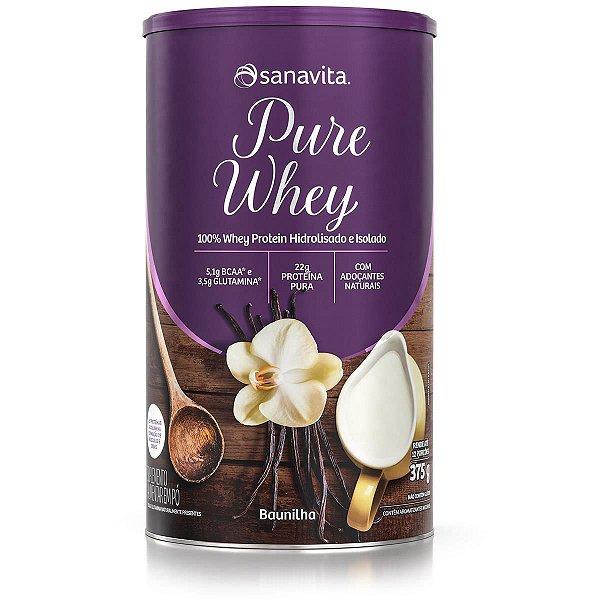 Pure Whey - Baunilha - Lata de 375g