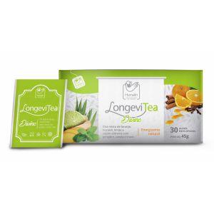 Humalin LongeviTea Divino - Caixa com 30 sachês de 1,5g