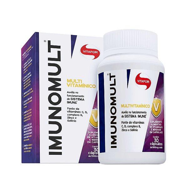 Imunomult - Multivitamínico 30 cápsulas