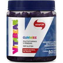 Vita Bear Vitamina - Pote com 60 Gomas de Frutas