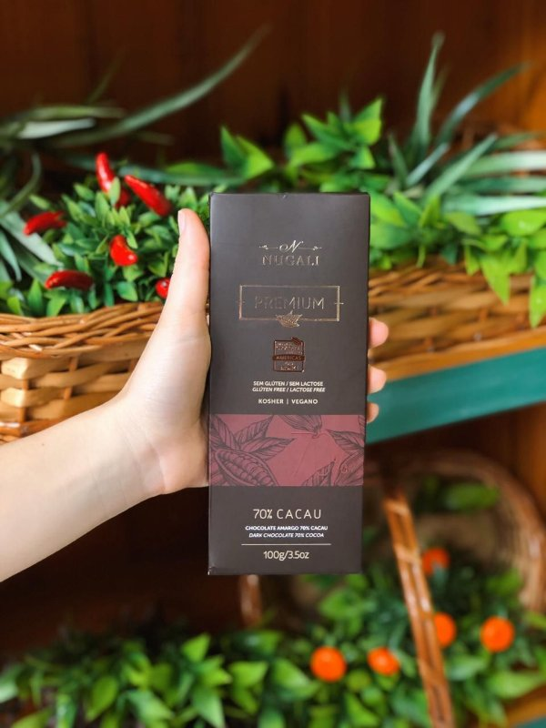 Chocolate Nugali 70% Cacau 100g