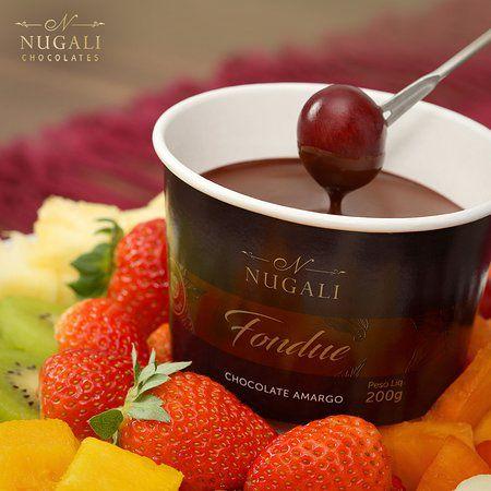 Fondue de Chocolate Amargo Nugali 200g