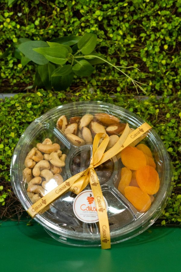 Bandeja de Nuts com Frutas Secas