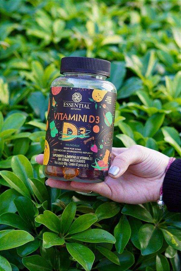 Vitamina D3 Gummy 120 caps Essential