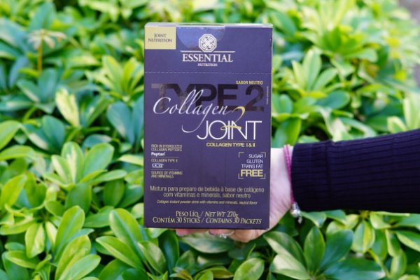 Collagen Joint Tipo 1 e 2 Limão