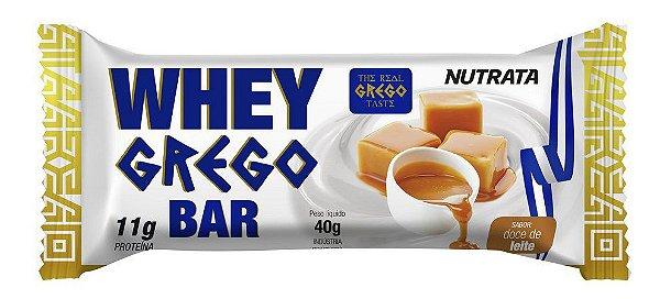 Whey Grego Bar Doce De Leite 40g