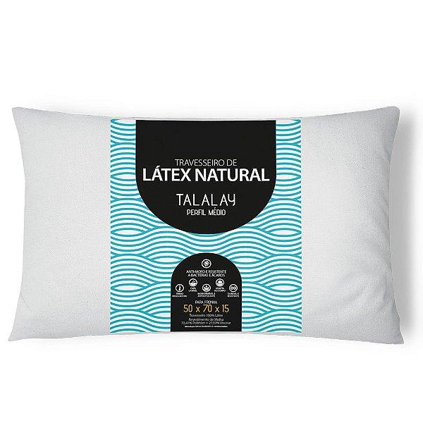 Travesseiro Látex Perfil Médio
