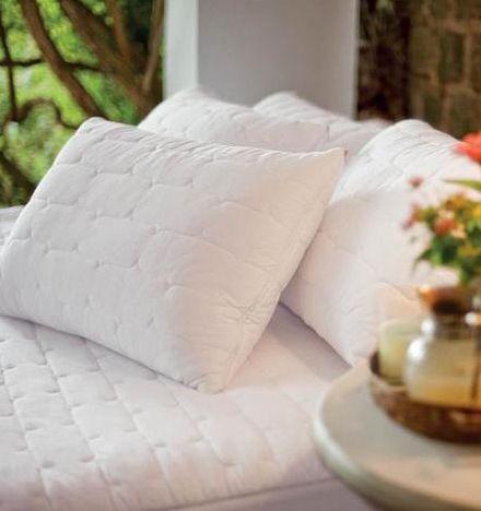 Protetor de Travesseiro Impermeável Matelassado 50x90