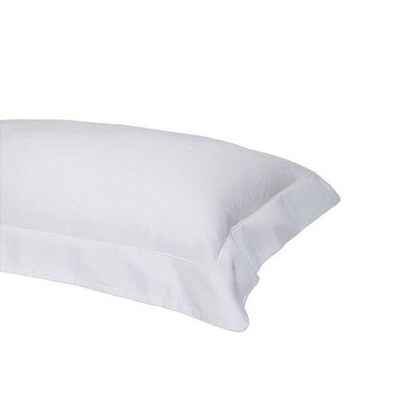 Fronha 40x130 Travesseiro de Corpo Liso 220 Fios