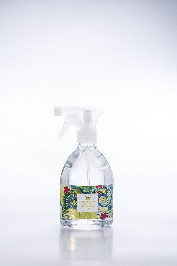 Água Perfumada Floral Lemon - 500 ml