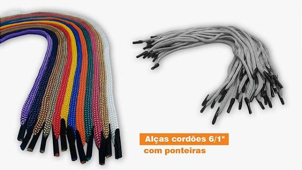 ALÇAS CORDÕES 6/1 COM PONTEIRAS