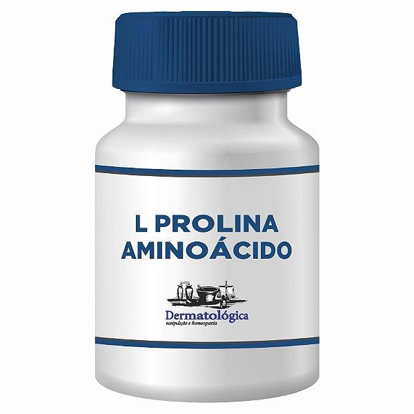 L-Prolina 300mg - 60 Cápsulas