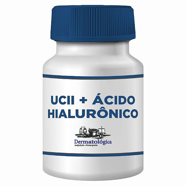 Cápsulas UC II 40mg + Ácido Hialurônico 20mg 30 cápsulas