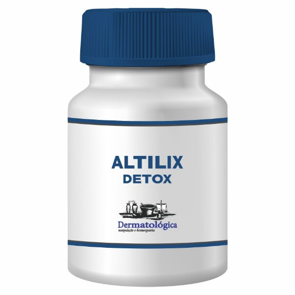 Extrato de Cynara cardunculus - Altilix 100mg - Efeito detoxificante