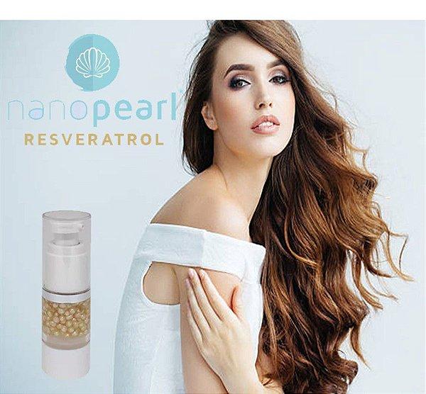 Nanopearl de Resveratrol, pérolas antioxidantes e antiaging 15ml