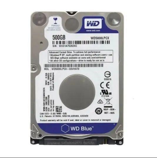 HD Slim Notebook WD 500gb