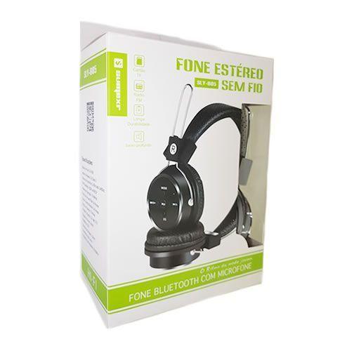 Fone de Ouvido Arco Headphone Bluetooth c/ Microfone Sumexr (SLY-B05)