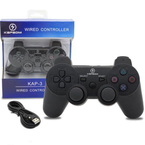 Controle Ps3 Dualshock c/ Fio (KAP-3)