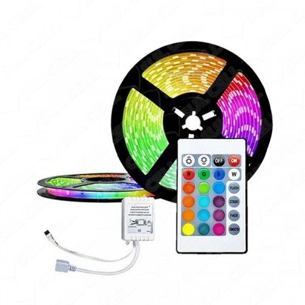 Fita de Led 3528 RGB c/ Revestimento de Silicone Lehmox (LEY-3528) - 5m