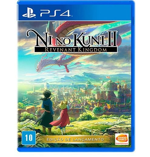 PS4 - Ni no Kuni II: Revenant Kingdom Seminovo