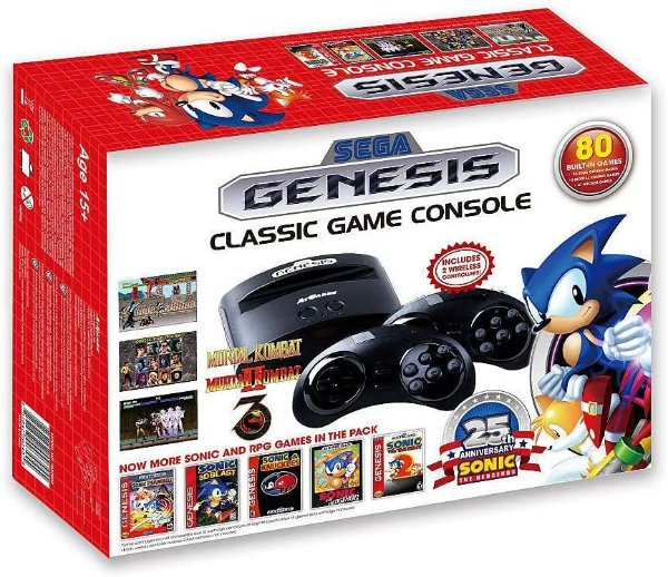 Console Mega Drive Sega Genesis Classic 80 Jogos