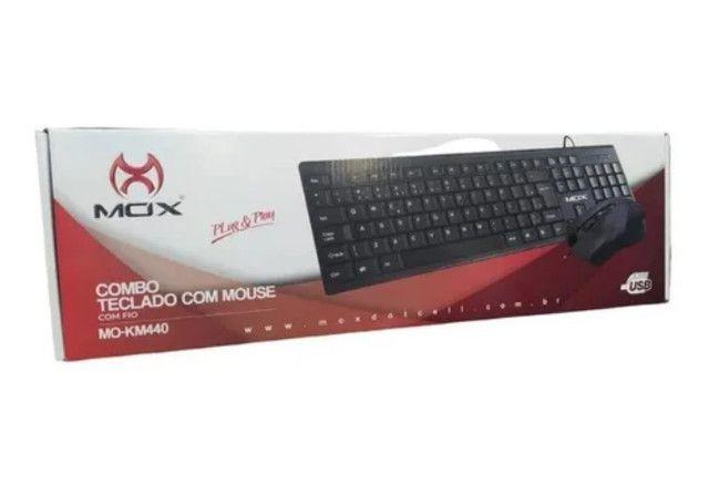 Kit Combo Teclado+Mouse Mox Mo-Km440