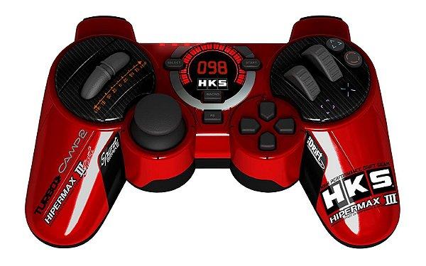Controle Joystick Ps3 Hks Racing P/Corrida