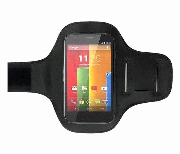 "Braçadeira para Celular iPhone/Android até 4.7"""