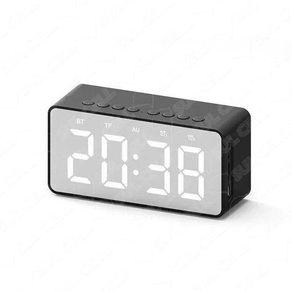 Caixa de Som Portatil Bluetooth Relogio Despertador (Bt-506F)
