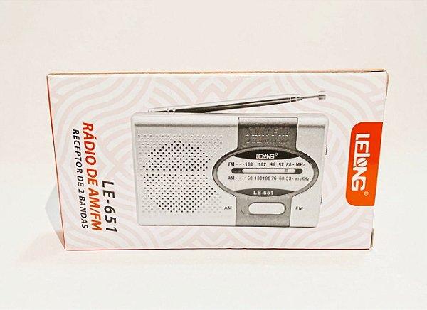 Rádio Portátil De Mão Am/Fm Altomex A-2019