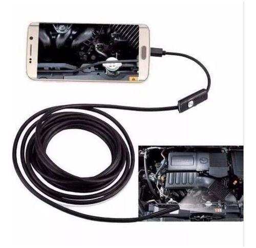 Micro Camera Sonda Endoscopica p/ Celular 2m Pc - Usb B-Max Nkj-2M