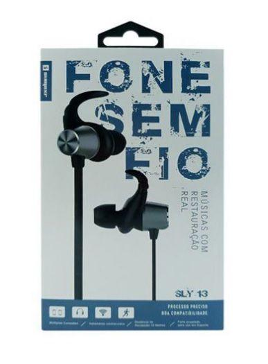 Fone de Ouvido Bluetooth s/ Fio Sumexr (Sly-13)