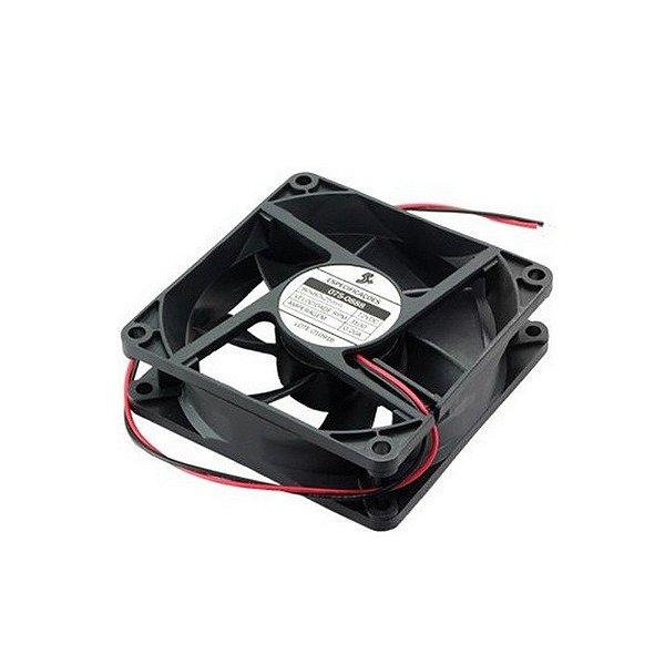 Cooler Gabinete 80x80x25mm 12V Chip Sce 075-2560