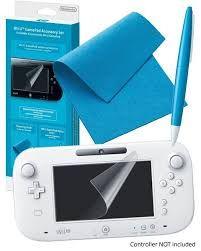 Kit Película + Caneta + Pano Wii U Gamepad