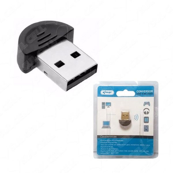 Adaptador Bluetooth 4.0 Usb Knup Kp-T115