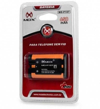 Bateria Telefone sem Fio 650mAh Mox Mo-P107