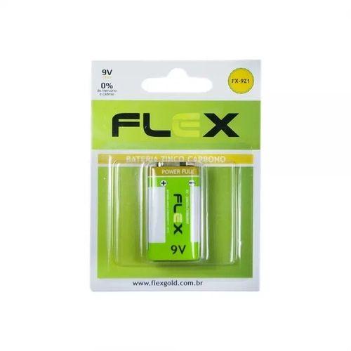 Bateria 9V Flex Fx-9Z1