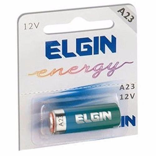Pilha Alcalina Elgin 12V A23