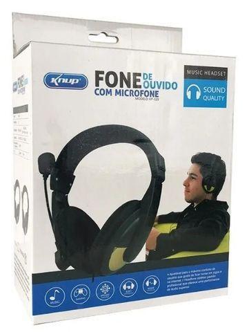 Headset Fones de Ouvido Knup Kp-320
