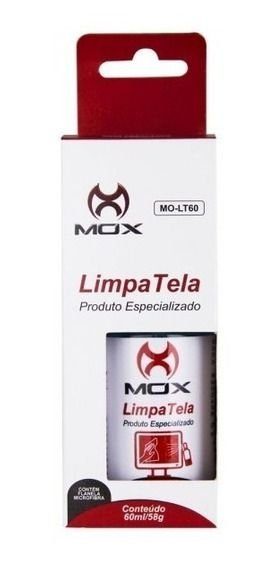 Limpa Telas 60ml Mox Mo-Lt60