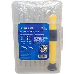 Kit Chaves de Precisão 12x1 It-Blue Le-953