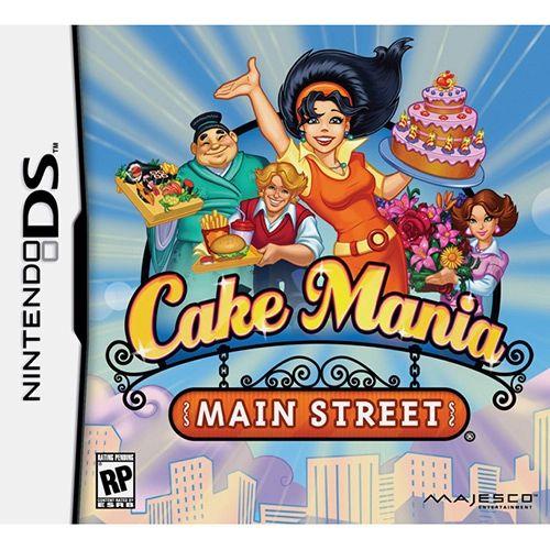 Nintendo Ds - Cake Mania Main Street