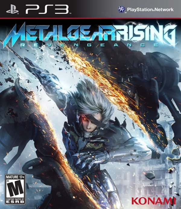 Ps3 - Metal Gear Rising: Revengeance